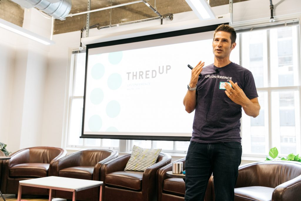 Faces of Entrepreneurship: James Reinhart, co-founder and CEO of thredUP