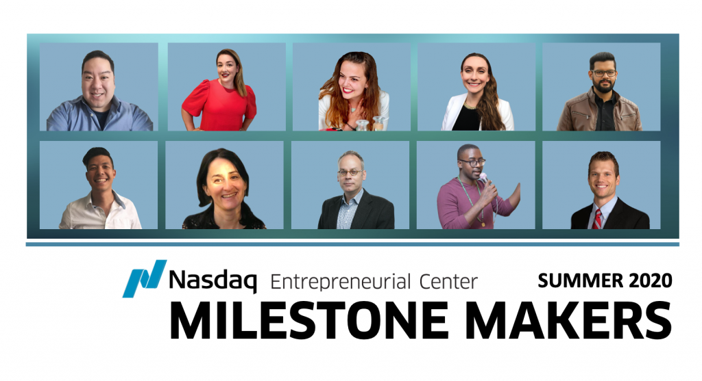 Meet the Entrepreneurs In Our Summer 2020 Milestone Makers COVID-19 Solutions Cohort