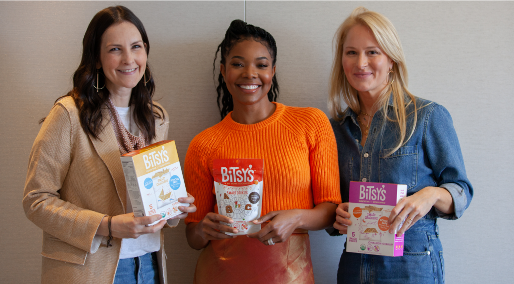 Faces of Entrepreneurship: Maggie Patton, Alex Buckley and Gabrielle Union, Bitsy's