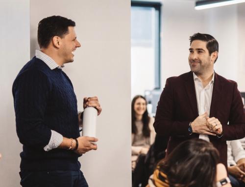 Faces of Entrepreneurship: Dan Brillman and Taylor Justice, Unite Us
